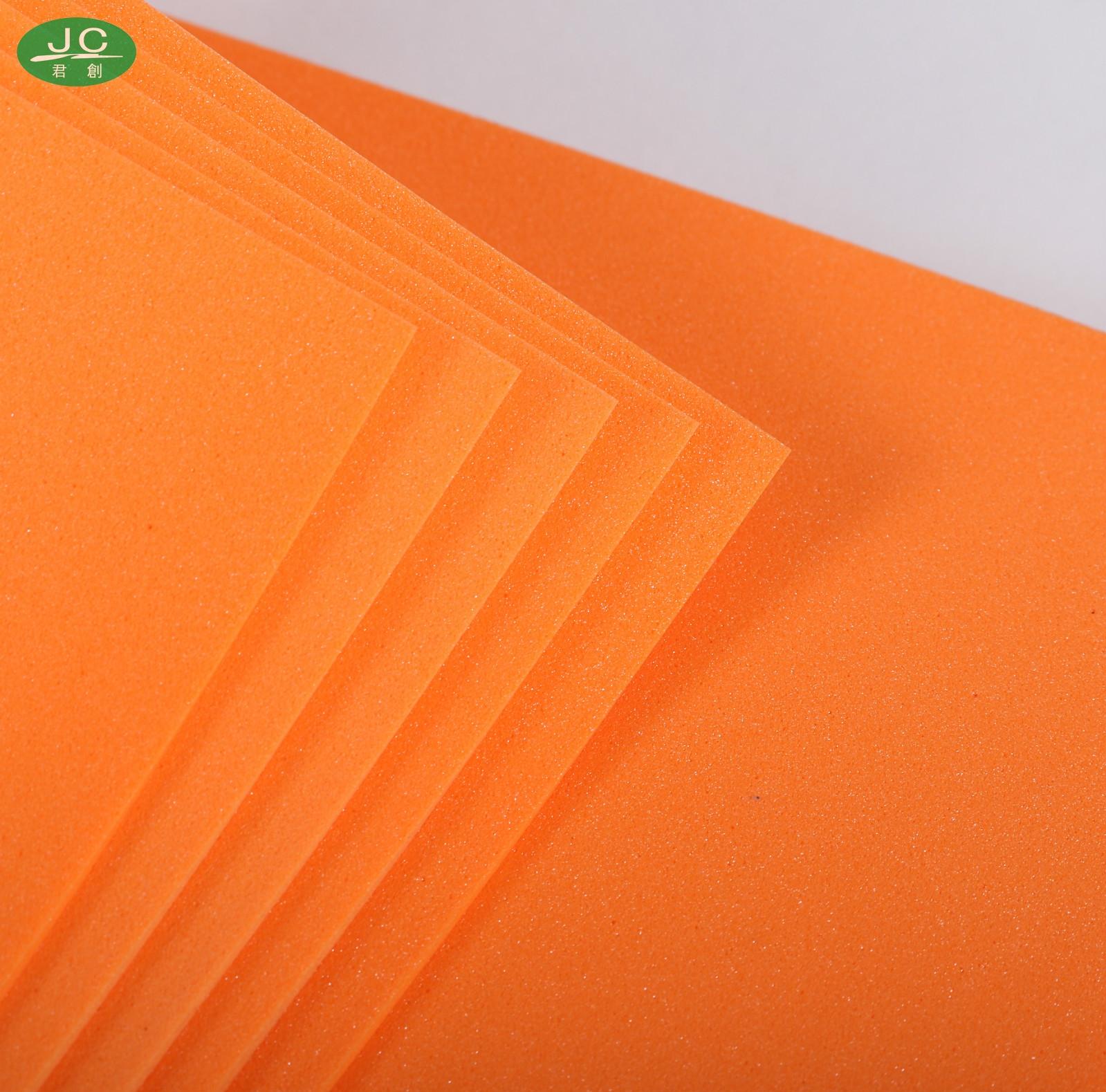 天津韩国进口橙色泡棉