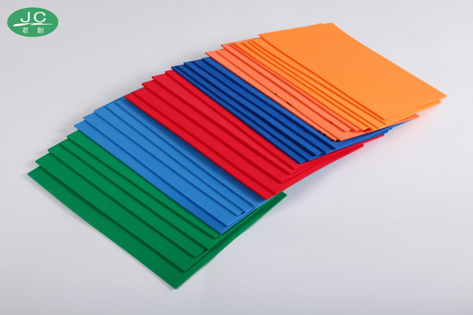 彩色垫刀泡棉弹垫